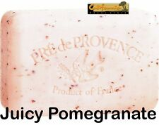 Pre de Provence JUICY POMEGRANATE Scent Soap 150 Gram Bath Shower Bar Shea