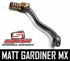 SUNLINE MOTOCROSS MX ALLOY GEAR LEVER SHIFTER folding tip HONDA CRF 250 04-09