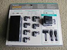 Brand New Targus Laptop Charger with Tablet and Phone Charging Kit APA3201US