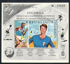 Chad 1970 Football World Cup/Olympic Games/Sports/Satellite 1v m/s (n34062)