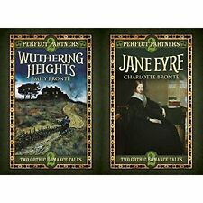 Perfect Partners: Jane Eyre & Wuthering Heights by Charlotte Bronte, Emily Bronte (Hardback, 2016)