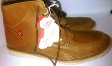 Oliberte Mens Leather Boot Lace Up Shoe Tan. This is Africa. Size 41 US 8