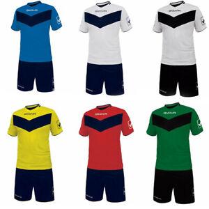 GIVOVA Kit VITTORIA Completi da Calcio Sport Fitness Running Palestra KITT04