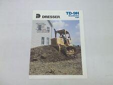 Dresser TD-9H Standard & LGP Crawler Dozer Sales Brochure
