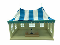 Calico Critters Sylvanian Families Blue Wedding Marquee Tent RARE HTF