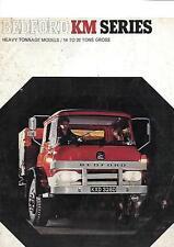 Bedford km pesado tonelaje Modelos camión camión folleto de ventas 1966 1967