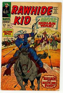 JERRY WEIST ESTATE: RAWHIDE KID #60 (Marvel 1967) VG! NO RES!