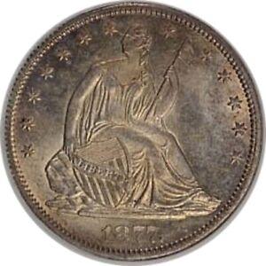 1877-CC Half Dollar Unc.