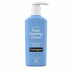 Neutrogena Fresh Foaming Facial Cleanser & Makeup