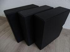 """3 noirs Phare-coffret, système """"OPTIMA-Géant"""""""
