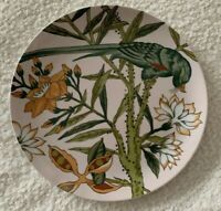 """4 - RARE The Haldon Group """"The Parrots"""" 10.25"""" Dinner Plates Gift Quality"""