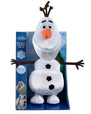 Disney Frozen Walkin Talkin Olaf Plush Toy Soft 75154 Walking Talking