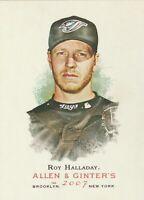 2007 Topps Allen & Ginter Baseball #265 Roy Halladay Toronto Blue Jays FAST SHIP