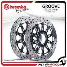2 Disques frein avant Brembo The Groove 320mm Kawasaki ZX 14R 2006>2011