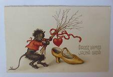 """""""Weihnachten, Krampus, Rute, Herz, Schuh"""" 1930 ♥ (50347)"""