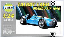 SMER Talbot Lago Grand Prix 1949, historischer Formel 1 Rennwagen, Bausatz 1:24