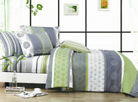 Pair of DEXTER King Pillowcases 50cm x 90cm New