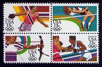 #2051a 13c 1984 Summer Olympics, Se-Tenant Block, Mint **ANY 4=FREE SHIPPING**