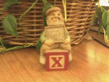 Cairn Tom Clark Gnome ~Alphabet ~ X ~ Xoxo Heart X Ray Doctor Christmas! C.O.A.