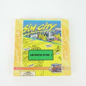 Sim City Architecture 1 | Commodore Amiga Boxed | Complete | Cassette Version