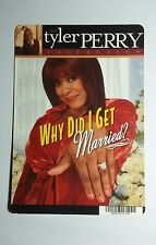 WHY DID I GET MARRIED TYLER PERRY ART MINI POSTER BACKER CARD (NOT A movie )