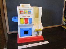 Vintage 1991 Fisher Price Gas station toddler #1032 garage toy machine dispenser