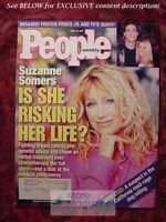 PEOPLE April 30 2001 SUZANNE SOMERS FREDDIE PRINZE SARAH MICHELLE GELLER