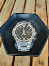 Casio G-SHOCK G-STEEL GSTB100D-1A9 Two Tone Tough Solar w Stainless Steel Band