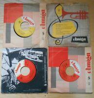 Single AMIGA Sammlung Ping Pongs Christel Schulze Jenny Petra Fotopoulos VG+