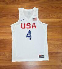 NEW 2016 NIKE USA BASKETBALL STEPH CURRY GAME JERSEY OLYMPIC FIBA NBA WARRIORS M