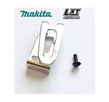 NEW MAKITA 346317-0 BELT HOOK CLIP & M4 X 12 SCREW DHP459 DHP480 BTW251 DHP456