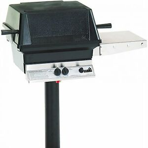 "PGS A30 Aluminum Grill 48"" Permanent Post/Feed Line In-ground post A30NG+APP"