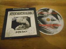 CD Metal Eye Hate God - Dopesick (12 Song) Promo CENTURY MEDIA cb