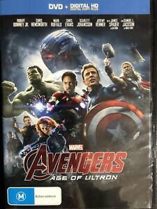 Avengers Age Of Ultron DVD Region 4