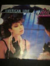 "Rose Laurens American love (1986)  [7"" Single]"