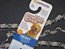 """Petmate Comfort Chain 24"""" 60 cm Heavy up to 110 lbs Reduces hair pull NEW w/Tag"""