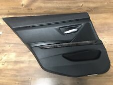 BMW 650i Gran Coupe F06 Rear Door Lining Cover Panel Leather Trim Left Side OEM