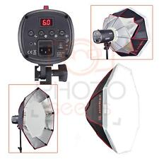 Studio Flash Head 250w + 60cm Octobox + Light Stand| JINBEI /CALER EII | Set Kit