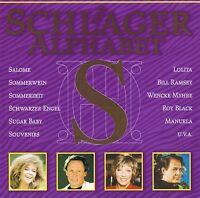 """DAS SCHLAGER ALPHABET """" Buchstabe S """" CD Neu & OVP MCP"""