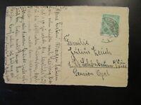 Germany 1925 Postcard w/ 5c Rhineland Issue - Z6540