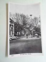 WALSALL, THE TOWN HALL - Vintage Real Photo Postcard Pub. F W Hannah    §B553