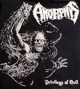 Amorphis PRIVILEGE OF EVIL Large L T-SHIRT 2018 Tour Tee KARELIAN Tales ELEGY