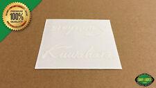 Kuwahara SCRIPT Freestyle BMX 1985 & Later Handlebar/Seat Post Decal (White)