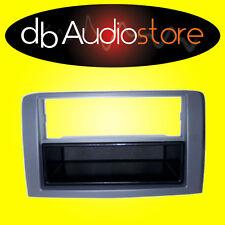 MA/102 Mascherina Autoradio 1 Doppio 2DIN Fiat Idea Grigia Adattatore Vano Radio