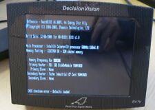 Decisione VISION Punto quattro monitor digitali multimediali di pubblicità modello: DV-TV