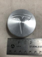 2012-17 TESLA Model S 85 Wheel Center Machined Hub Cover Cap OE 6005879 00 A