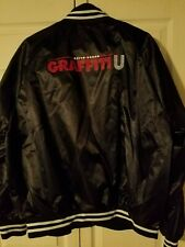 Keith Urban Graffiti U World Tour 2018 VIP Black Jacket - Adult Size L