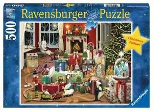 RAVENSBURGER PUZZLE*500 TEILE*DEMELSA HAUGHTON*ENCHANTED CHRISTMAS*NEU+OVP