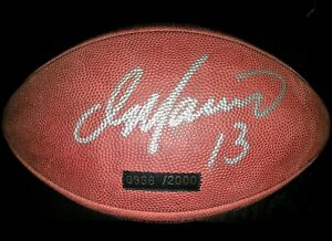 Dan Marino Miami Dolphins Autographed Wilson Duke Football w/PSA/DNA COA