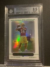 Aaron Rodgers 2005 Topps Chrome Rookie Refractor BGS 8.5